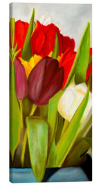 Canvas  Cheerful spring colors - Monica Schwarz