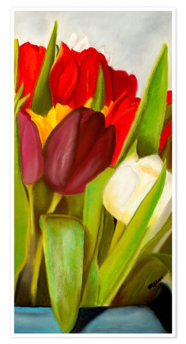 Premium poster Cheerful spring colors