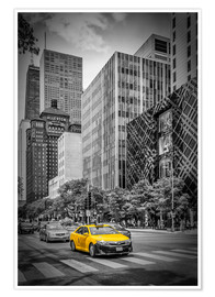 Premium poster  CHICAGO North Michigan Avenue - Melanie Viola