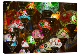 Canvas  Traditional turkish lamps