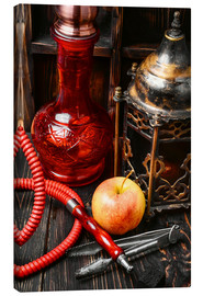 Canvas  Hookah tobacco with apple