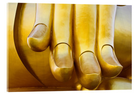 Acrylic print  Fingers of the Buddha
