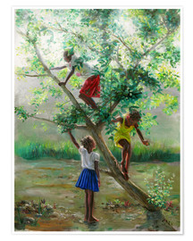 Premium poster  guava tree2 - Jonathan Guy-Gladding