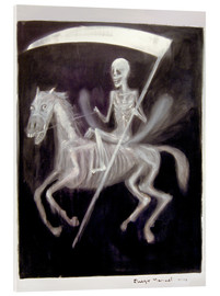 Acrylic glass  The death - Diego Manuel Rodriguez