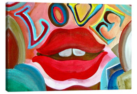 Canvas print  Love V - Diego Manuel Rodriguez