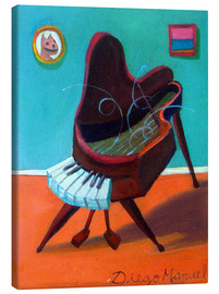 Canvas print  house piano - Diego Manuel Rodriguez