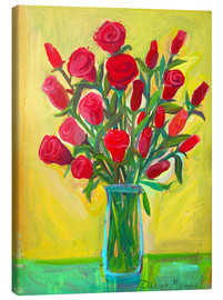 Diego Manuel Rodriguez - Red roses III