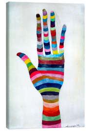 Canvas print  The hand 4 - Diego Manuel Rodriguez