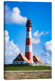 Canvas print  Lighthouse Westerhever - Michael Haußmann