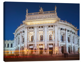 Canvas print  Burgtheater - Rainer Mirau