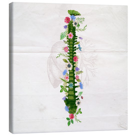 Canvas print  Floral Spine - Sybille Sterk
