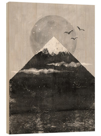 Wood print  Zenith - Tracie Andrews