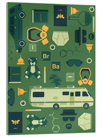 Acrylic print  Breaking Bad - Tracie Andrews