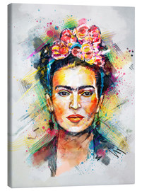 Canvas  Frida Kahlo - Tracie Andrews