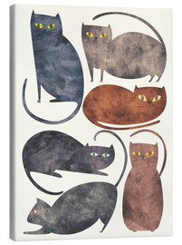 Canvas  Cats - Tracie Andrews