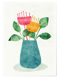 Poster  Bouquet - Tracie Andrews