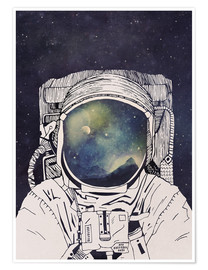 Premium poster  Dreaming of Space - Tracie Andrews