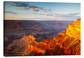 Canvas print  Sunset on Grand Canyon South Rim, USA - Matteo Colombo