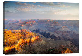 Canvas  Sunrise of Grand Canyon South Rim, USA - Matteo Colombo