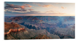 Acrylic print  Panoramic sunrise of Grand Canyon, Arizona, USA - Matteo Colombo
