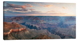 Canvas  Panoramic sunrise of Grand Canyon, Arizona, USA - Matteo Colombo