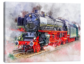 Canvas print  Train Deutsche Reichsbahn - Peter Roder