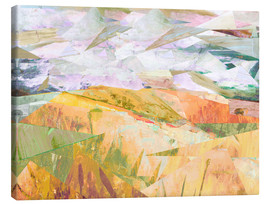 Canvas print  Wheatfields in Summer - David McConochie
