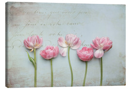 Canvas  Vintage Tulips - Lizzy Pe