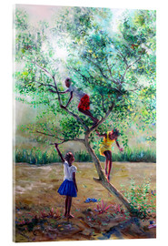 Acrylic print  Guava tree III - Jonathan Guy-Gladding