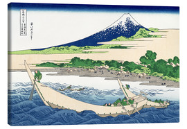 Canvas print  shore of tago bay ejiri at tokaido - Katsushika Hokusai