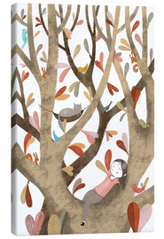 Canvas print  In the Tree No 2 - Judith Loske