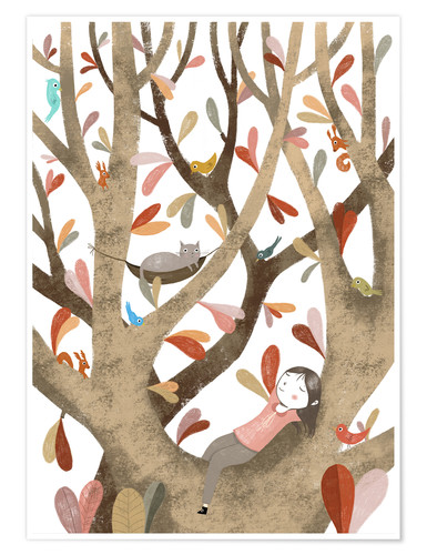 Premium poster In the Tree No 2