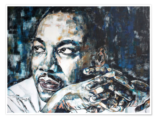 Premium poster Martin Luther King