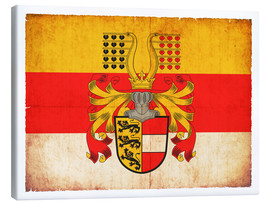 Canvas print  Flag of Carinthia in grunge style - Christian Müringer