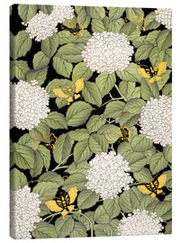 French School - Japanese floral design