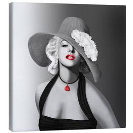 Canvas print  Marilyn - Monika Jüngling