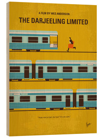 Wood  No800 My The Darjeeling Limited minimal movie poster - chungkong