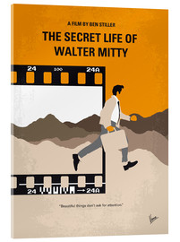 Acrylic glass  No806 My The Secret Life of Walter Mitty minimal movie poster - chungkong