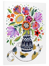 Forex  Calico Cat Bouquet - Janet Broxon