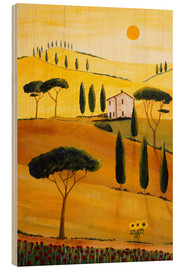 Wood  Colored Tuscany - Christine Huwer