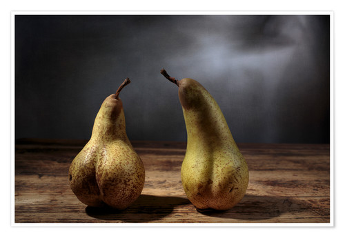 Premium poster Still life with pears