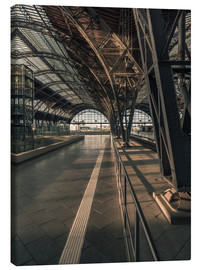 Canvas print  Leipzig Hauptbahnhof in the sunlight - Sven Hilscher