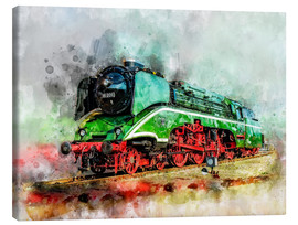 Peter Roder - Steam locomotive 18 201, the fastest steam locomotive in the world