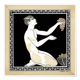 Premium poster  Nijinsky as a faun in the ballet - Georges Barbier