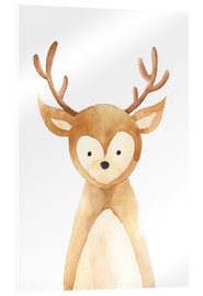 Acrylic glass  Deer - RNDMS