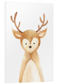 Foam board print  Deer - RNDMS