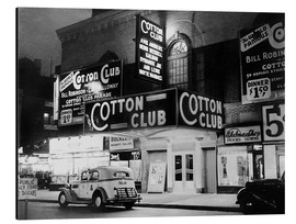 Aluminium print  Cotton Club in Harlem, New York