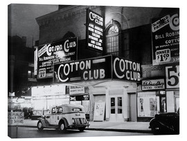 Canvas  Cotton Club in Harlem, New York
