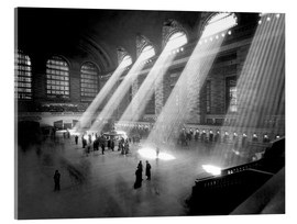 Acrylic glass  Historical Grand Central Station
