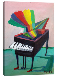 Canvas print  Piano music 3 - Diego Manuel Rodriguez